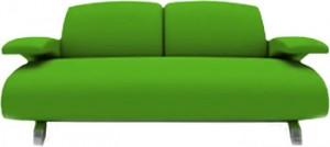 gr nes sofa m belideen. Black Bedroom Furniture Sets. Home Design Ideas