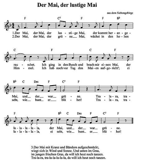 Der Mai Ist Gekommen Lied